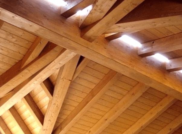 Copertura In Legno Lamellare Prezzi : Tetti in legno caratteristiche tipologie e prezzi