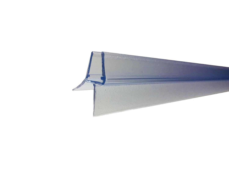 distanza fino a 20/mm per vetro dritto//curvo da 4-6 mm HNNHOME Guarnizione per schermo di vasca//doccia